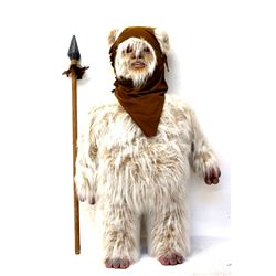 Star Wars Return of the Jedi (1983) - A life size Ewok display prop made from solid foam and rubber