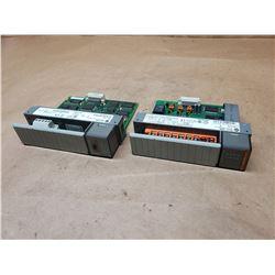 (2) Allen-Bradley SL500 Modules 1746-OX8 & 1747-SDN
