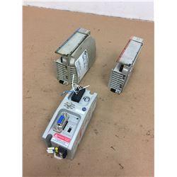 (3) Allen-Bradley 1769-OW8 & 1769-ECR Compact Module & 1761-NET-AIC Adv. Interface Converter