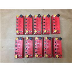 Lot of 10 Allen-Bradley 1732DS-IB8 DeviceNet Block Guard I/O