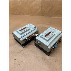 (2) Allen-Bradley 1764-24BWA Series B Rev. A MicroLogix1500 Base Unit