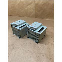 (2) Allen-Bradley 1769-L24ER-QB1B Series A CompactLogix Controller