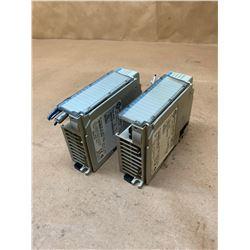(2) Allen-Bradley 1769-IQ16 Series A Rev 1 Compact I/O 16 PT. Input Module
