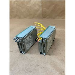(2) Allen-Bradley 1769-OB16 Series B Rev 1 Compact I/O Sourcing Output Module