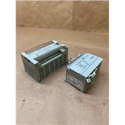 (2) Allen-Bradley Controllers 1762-L40AWA & 1761-L16BWA