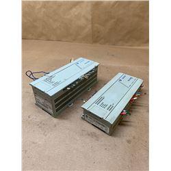 (2) Allen-Bradley Controllers 1761-L32BWA & 1761-L32BBB