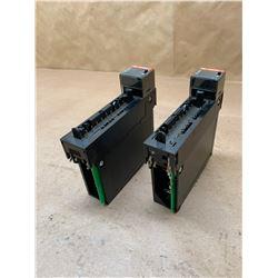 (2) Allen-Bradley 1756-0A16/A Output Module