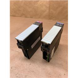 (2) Modules Hardy HI 1756-WS Weight Controller & ProSoft MV156 Communications Module