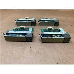 (4) Allen-Bradley 1746-IV16 Series C Input Module