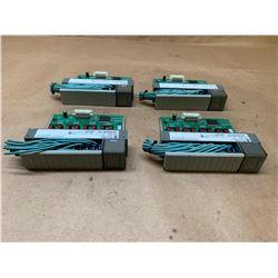 (4) Allen-Bradley 1746-OB16 Series D SLC500 Output Module