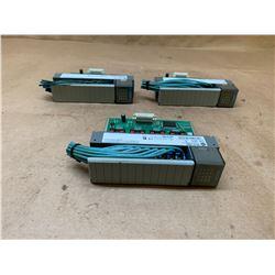 (3) Allen-Bradley 1746-OB16 Series D SLC500 Output Module