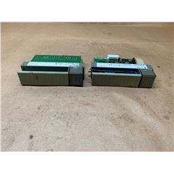 (2) Allen-Bradley Input Modules 1746-IB32 Series C & 1746-IB16 Series C
