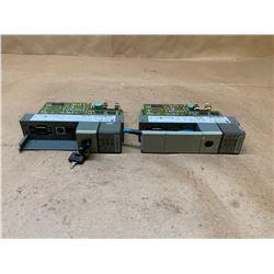 (2) Allen-Bradley 1747-L542 Series C Rev 3 SLC 500 Processor Unit