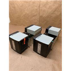 (2) Allen-Bradley 1756-PA72/C Power Supply w/ 1746-A7/B 7 Slot Chassis