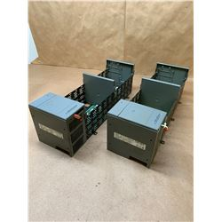 (2) Allen-Bradley 1746-P2 Series C SLC500 Power Supply w/ 1746-A10 10-Slot Rack