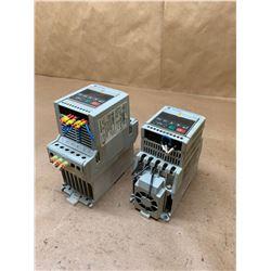(2) Allen-Bradley Variable Speed Controller 160-BA02NPS1P1 & 160-BA04NSF1P1
