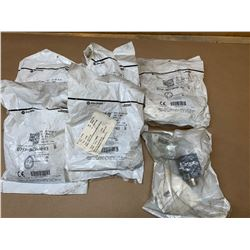 (6) Allen-Bradley 871P-BW15N40-R3 and 871P-BW15N40-N3 Inductive Proximity Sensor
