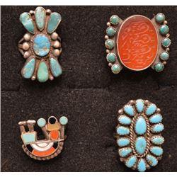 NAVAJO INDIAN RINGS
