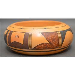 HOPI INDIAN POTTERY BOWL (AAS-KU-MANA)