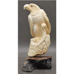 INUIT IVORY SCULPTURE