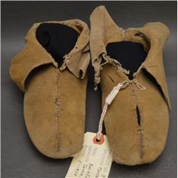 SAC AND FOX INDIAN MOCCASINS