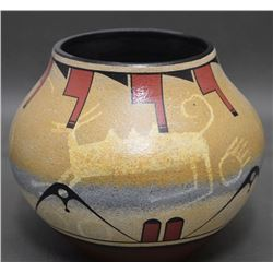 ZIA INDIAN POTTERY JAR (RALPH ARAGON)