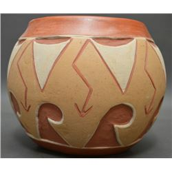 SAN JUAN INDIAN POTTERY JAR (TOMASITA MONTOYA)