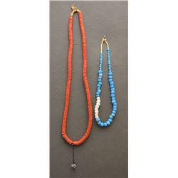 TRADE BEAD NECKLACES