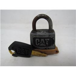 CAT PADLOCK (COMES WITH KEY)