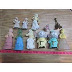 ASSORTED FIGURINES (SOME AVON)
