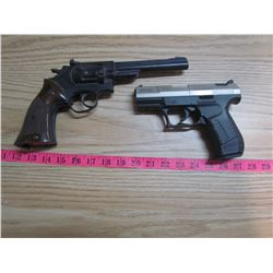 TWO PELLET GUNS (AS IS CONDITION) *WALTHER CP99 & ROSMAN MODEL 38T*