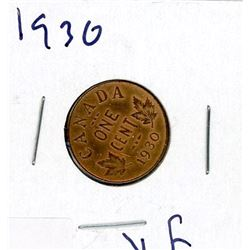 ONE CENT COIN (CANADA) *1930*