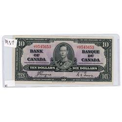 TEN DOLLAR BILL (CANADA) *1937*