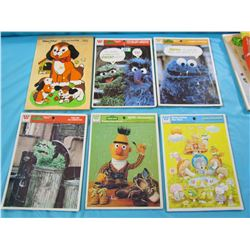 LOT OF 9 CHILDRENS PUZZLES (VINTAGE)