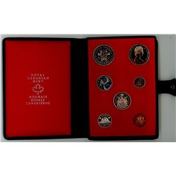 DOUBLE DOLLAR SILVER PROOF SET (CANADA) *1971*