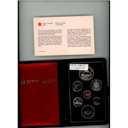 DOUBLE DOLLAR SILVER PROOF SET (CANADA) *1979*