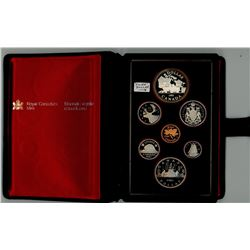 DOUBLE DOLLAR SILVER PROOF SET (CANADA) *1981*
