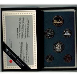 SPECIMEN COIN SET (CANADA) *1993*