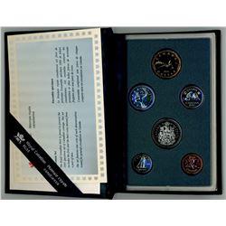 SPECIMEN COIN SET (CANADA) *1995*
