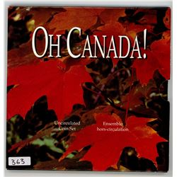 OH CANADA UNCIRCULATED COIN SET *1997*