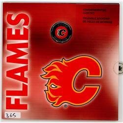 CALGARY FLAMES COMMEMORATIVE SET (2008)