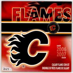 CALGARY FLAMES (UNCIRCULATED SET) *2007*