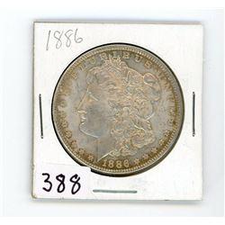 ONE DOLLAR COIN-MORGAN (CANADA) *1886* (SILVER)