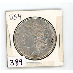 ONE DOLLAR COIN-MORGAN (CANADA) *1889* (SILVER)