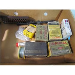 ASSORTED LOT INCLUDING AMMUNITION, SCOPE, ETC. *PICK UP ONLY*