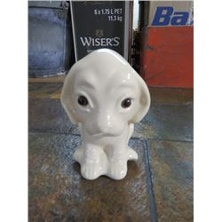 COLLECTABLE CERAMIC DOG