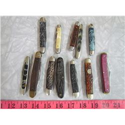 LOT OF ASSORTED POCKET KNIVES