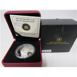 2012 Proof $20 Queen's Diamond Jubilee with Ultra High Relief.   $70.