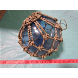 FISHNET FLOAT WITH GLASS BALL