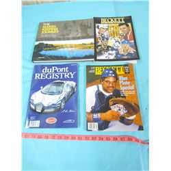 LOT OF MISCELLANEOUS BOOKS & MAGAZINES